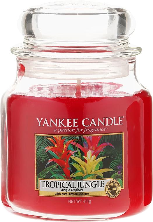 Vela aromática en tarro, selva tropical - Yankee Candle Tropical Jungle