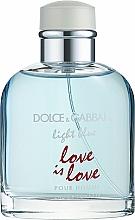 Perfumería y cosmética Dolce & Gabbana Light Blue Love is Love Pour Homme - Eau de toilette