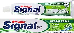 Perfumería y cosmética Pasta dental con extracto de hierbas - Signal Family Herbal Fresh Toothpaste