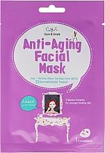 Perfumería y cosmética Mascarilla facial de tejido antiedad con extractos de algas - Cettua Anti-Aging Facial Mask