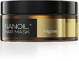 Perfumería y cosmética Mascarilla capilar hidratante con extracto de algas marinas y glicerina - Nanoil Algae Hair Mask