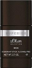 Perfumería y cosmética S.Oliver Superior Men - Desodorante stick perfumado sin alcohol