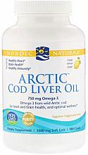 Perfumería y cosmética Complemento alimenticio en cápsulas de aceite de híagado de bacalao ártico con sabor a limón, 750 mg - Nordic Naturals Cod Liver Oil