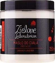 Perfumería y cosmética Manteca corporal natural con jugo de manzana y aceite de lavanda - Zielone Laboratorium