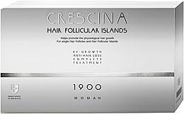 Perfumería y cosmética Complejo terapéutico contra la caída del cabello para mujeres 1900 - Labo Crescina Hair Follicular Island Re-Growth Anti-Hair Loss Complete Treatment 1900 Woman