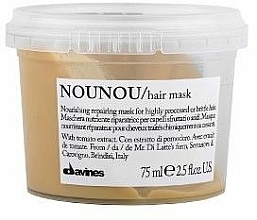 Mascarilla capilar nutritiva con extracto de tomate - Davines Nounou Nourishing Reparing Mask — imagen N2