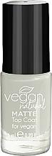 Perfumería y cosmética Top coat mate - Vegan Natural Matte Top Coat