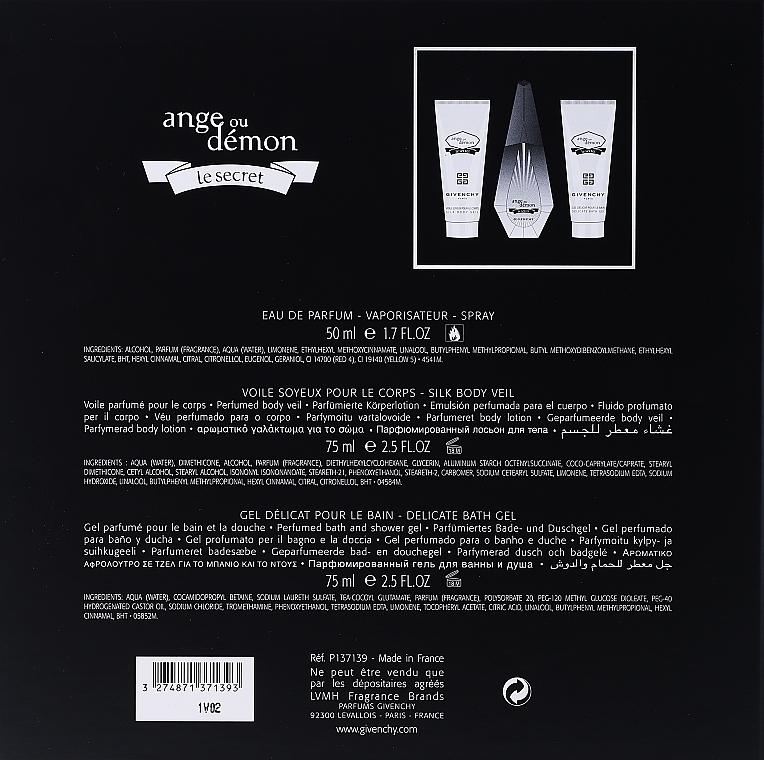 Givenchy Ange Ou Demon Le Secret - Set (eau de parfum/50ml + emulsión corporal perfumada/75ml + gel de ducha/75ml) — imagen N8