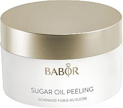 Perfumería y cosmética Exfoliante facial revitalizante de azúcar y aceite de argán - Babor Cleansing Sugar Oil Peeling