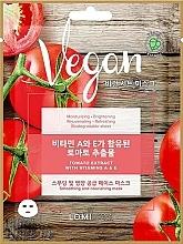 Perfumería y cosmética Mascarilla facial de tejido vegana con extracto de tomate - Lomi Lomi Vegan Mask