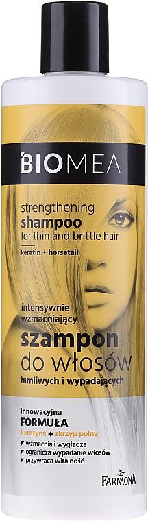 Champú fortalecedor con queratina - Farmona Biomea Strengthening Shampoo