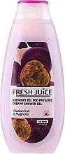 Perfumería y cosmética Crema de ducha con extracto de magnolia y flor de la pasión - Fresh Juice Brazilian Carnival Passion Fruit & Magnolia