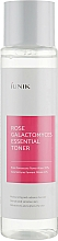Perfumería y cosmética Toner facial con 70% agua de rosa damascena - iUNIK Rose Galactomyces Essential Toner