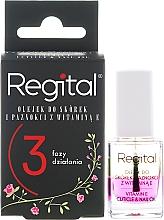 Perfumería y cosmética Aceite trifásico para uñas y cutículas con vitamina E - Regital Three-phase Cuticle And Nail Oil