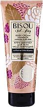 Perfumería y cosmética Crema corporal reafirmante con extracto de jengibre - Bisou Collagen&Blackberry Body Cream Shimmer
