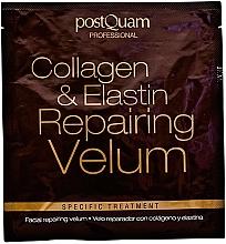 Velo reparador con colágeno & elastina - Postquam Facial Collagen & Elastin Repairing Velum Face Mask — imagen N2