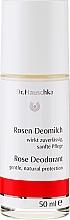 Perfumería y cosmética Desodorante antitranspirante roll-on con aceite de rosa - Dr. Hauschka Rose Deodorant