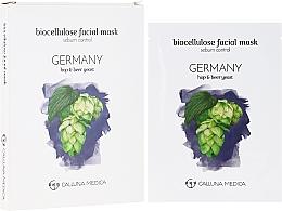Perfumería y cosmética Mascarilla facial sebo control de biocelulosa - Calluna Medica Germany Sebum Control Biocellulose Facial Mask
