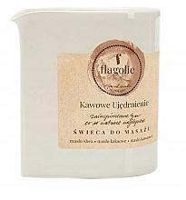 Perfumería y cosmética Vela de masaje corporal reafirmante, aroma a café - Flagolie Coffee Firming Massage Candle