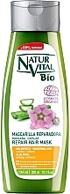 Perfumería y cosmética Mascarilla capilar bio reparadora con jugo de aloe vera y extracto de malvavisco - Natur Vital Bio Repair Hair Mask