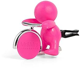 Perfumería y cosmética Mr&Mrs Fragrance Gino Citrus & Musk Fuchsia - Ambientador de coche con aroma a cítricos y almizcle