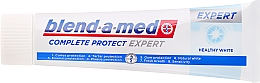 Pasta dental blanqueadora con fluoruro y zinc - Blend-a-med Complete Protect Expert Healthy White Toothpaste — imagen N2