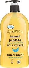 Perfumería y cosmética Champú & Gel de ducha con banana & aloe vera - Bluxcosmetics Naturaphy
