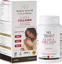 Perfumería y cosmética Complemento alimenticio en cápsulas con colágeno para el cuidado de uñas, cabello y piel, 90 cáp. - Noble Health Premium Wellnes Classa Collagen