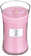 Perfumería y cosmética Vela aromática, rosa - WoodWick Hourglass Candle Rose