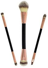 Perfumería y cosmética Set brochas de maquillaje - Makeup Revolution Flex & Go Brush Set