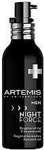 Perfumería y cosmética Concentrado regenerador de noche con aceites esenciales - Artemis of Switzerland Men Night Force Regenerating Concentrate