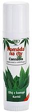 Perfumería y cosmética Bálsamo labial con aceite de cañamo y manteca de karité - Bione Cosmetics Cannabis Lip Balm with Shea Butter