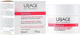 Perfumería y cosmética Crema facial hipoalergénica enriquecida con agua termal de los Alpes - Uriage Roseliane Anti-Redness Rich Cream