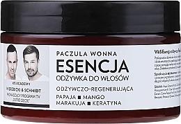 Perfumería y cosmética Esencia nutritiva para cabello con queratina, extracto de papaya y mango - WS Academy Nourishing Essence