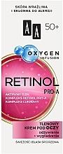 Perfumería y cosmética Crema contorno de ojos con oxígeno activo, retinol y complejo de azúcar - AA Oxygen Infusion Retinol Pro-A Eye Cream