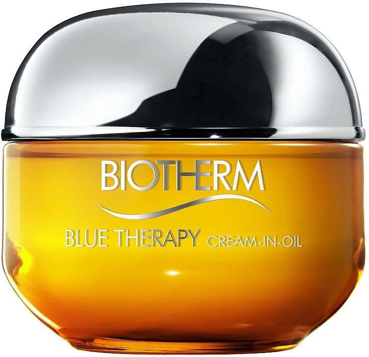 Crema facial en aceite antiarrugas con Omega 3 y 6 - Biotherm Blue Therapy Cream-in-Oil