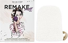 """Perfumería y cosmética Guante desmaquillante, de leche """"ReMake"""" - MakeUp"""