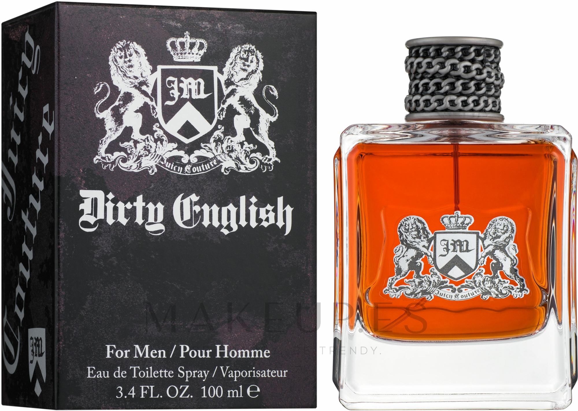 Juicy Couture Dirty English for Men - Eau de toilette — imagen 100 ml