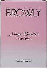 Perfumería y cosmética Jabón modelador de cejas con cepillo - Browly Soap Booster
