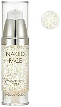 Perfumería y cosmética Sérum base para una piel translúcida con un brillo radiante - Holika Holika Naked Face Gold Serum Primer