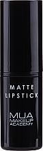 Perfumería y cosmética Barra de labios con efecto mate, vegana - MUA Makeup Academy Matte Lipstick