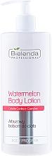 Perfumería y cosmética Loción corporal con extracto de sandía - Bielenda Professional Body Program Watermelon Body Lotion