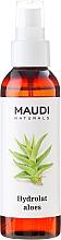 Perfumería y cosmética Agua natural de aloe para rostro, cuerpo y cabello - Maudi