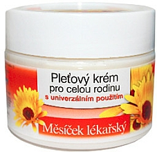 Perfumería y cosmética Crema facial con extracot de té verde - Bione Cosmetics Marigold Facial Cream