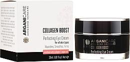 Perfumería y cosmética Contorno de ojos antiarrugas de argán & colágeno - Arganicare Collagen Boost Perfecting Eye Cream