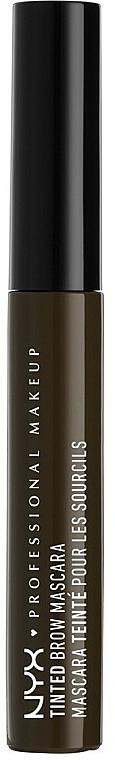 Máscara, tinte para cejas - NYX Professional Makeup Tinted Eyebrow Mascara Gel