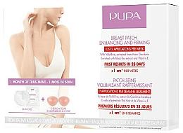 Perfumería y cosmética Parches de senos con aceite de almendras dulces - Pupa Breast Patch Enhancing and Firming Set