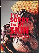 Perfumería y cosmética Mascarilla facial de tejido reductora de poros con extracto de onagra - Ultru I'm Sorry For My Skin Pore Care Mask