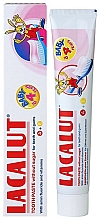 Perfumería y cosmética Pasta dental con vitamina A y E, Baby - Lacalut Baby Toothpaste