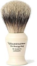 Perfumería y cosmética Brocha de afeitar artesanal con cerdas de tejón, S375, talla M - Taylor of Old Bond Street Shaving Brush Super Badger size M
